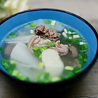大雪润燥滋补:萝卜马蹄羊肉汤的做法图解7