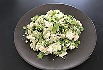 香菜小葱拌豆腐的做法