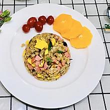 #餐桌上的春日限定#梅干菜鸡蛋炒饭~好吃好香(附梅干菜烧肉)