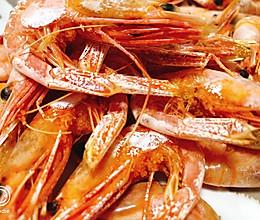 烤北极虾当零食的做法