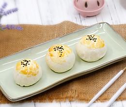 肉松麻薯蛋黄酥的做法
