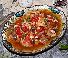 剁椒蒸鸡的做法