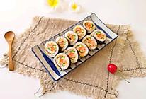 肉松寿司卷#换着花样吃早餐#的做法