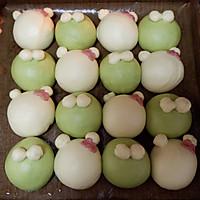 青蛙凯蒂挤挤包(一次发酵)#网红美食我来做#的做法图解24
