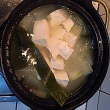 冬瓜海带豆腐汤