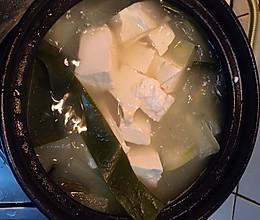 冬瓜海带豆腐汤的做法