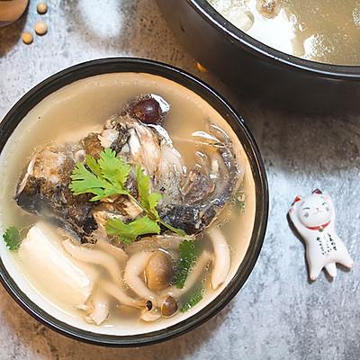 天麻补脑鱼头汤【发酵食堂】