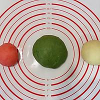 可爱小西瓜面包#金龙鱼精英100%烘焙大赛颖涵战队#的做法图解7