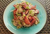 平菇炒香肠的做法