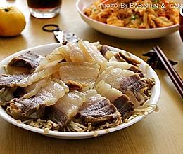 咸肉蒸#金龙鱼外婆乡小榨菜籽油 最强家乡菜#的做法