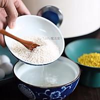 桂花藕粉圆子羹#花10分钟,做一道菜!#的做法图解2