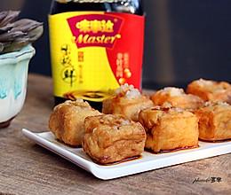 油豆腐酿#鲜的团圆味#的做法
