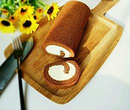 巧克力奶油蛋糕卷的做法
