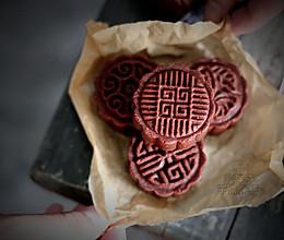黑美人巧克力月饼的做法