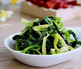 凉拌芹菜叶#春天不减肥,夏天肉堆堆#的做法