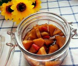 腌白萝卜咸菜的做法