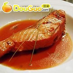 柠檬草柑橘烧三文鱼的做法