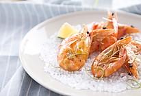 盐烤明虾的做法