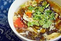 西红柿菠菜蛋花汤——附蛋花软嫩的秘诀的做法