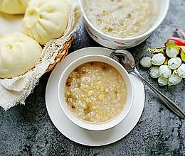 鲜玉米绿豆粥的做法