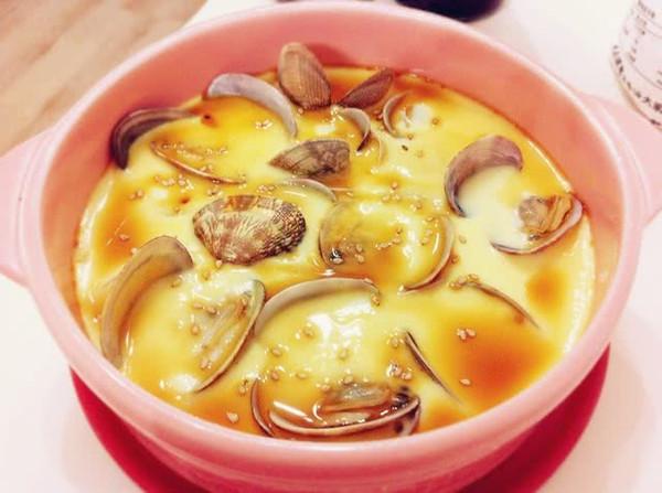 蛤蜊炖蛋的做法