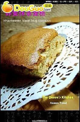 蜂蜜抹茶蛋糕的做法