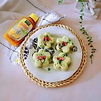 豌豆汁心饭团 太太乐鲜鸡汁蒸鸡原汤的做法图解22