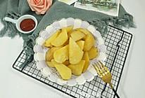 快手小零食~烤薯角的做法