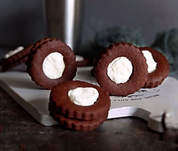 棉花糖可可饼干#优思明5.20 我爱0距离#的做法