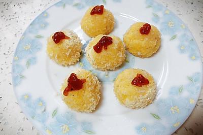 1岁+虾仁土豆丸