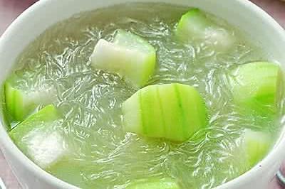 絲瓜冬粉湯