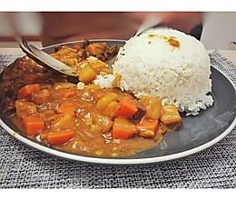 土豆牛肉咖喱饭的做法