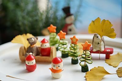 超級簡單好上手的圣誕樹、雪人和圣誕老人