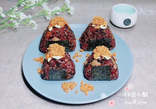 白果藜麦黑米饭团   谷物能量餐的做法