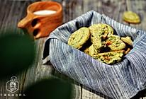 小白零失败做当红饼干:抹茶核桃饼干的做法