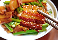 蒜苗炒腊肉的做法