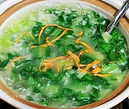 锦娘制——青菜米汤钵的做法