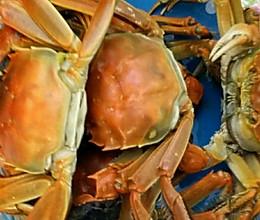 清蒸大闸蟹~~附巧洗螃蟹的做法