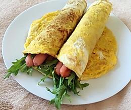 早餐鸡蛋卷饼的做法