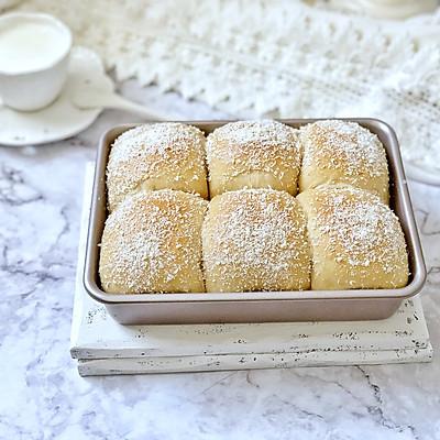 椰蓉咖啡豆沙面包