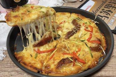 老北京烤鸭披萨
