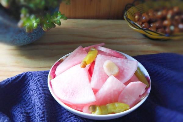 泡椒酸萝卜的做法