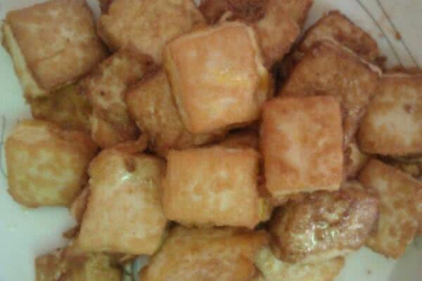 黄金豆腐的做法