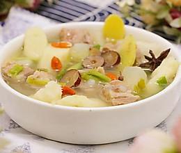 山药白玉羊肉汤#盛年锦食.忆年味#的做法