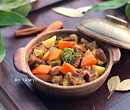 #快手又营养,我家的冬日必备菜品# 咖喱牛腩的做法