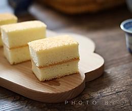 Q润豆腐戚风蛋糕的做法