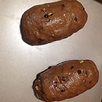 麦香可可果仁奶酪大欧包的做法图解7