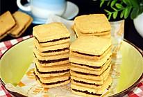 花生巧克力夹心饼干#寻人启事#的做法