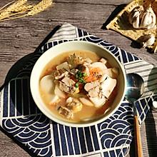 三鲜黄鱼年糕汤
