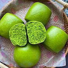 春天的颜色&松软的菠菜馒头